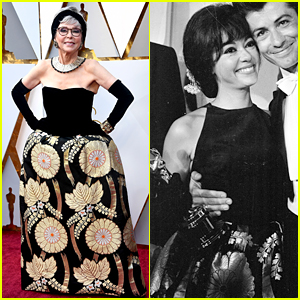 Rita Moreno Rewears Her 1962 Oscars Gown for 2018 Show!
