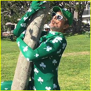 Robert Downey Jr Embraces St. Patrick's Day in Skintight Bodysuit!