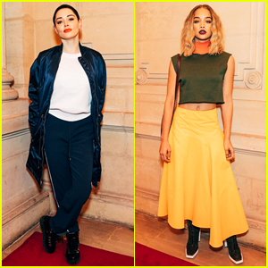 Rose McGowan & Jasmine Sanders Strike Pose at Kenzo La Collection Memento No3 Show!