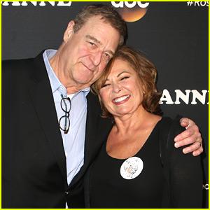 Roseanne Barr & John Goodman Buddy Up at 'Roseanne' Reboot Premiere!