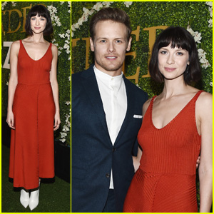 Sam Heughan & Caitriona Balfe Are a Picture Perfect Pair at 'Outlander' Special Screening!