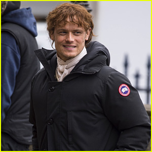 Sam Heughan Seen on 'Outlander' Season Four Set in New Photos!