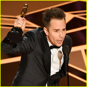 Image result for sam rockwell oscars 2018 pic