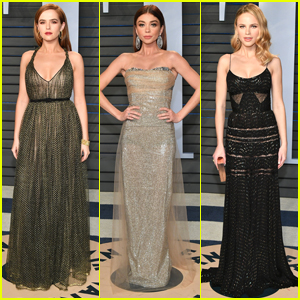 Zoey Deutch, Sarah Hyland & Halston Sage Step Out For Vanity Fair's Oscar Party 2018
