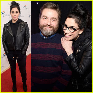 Sarah Silverman & Zach Galifianakis Team Up to Support Venice Family Clinic