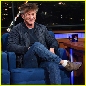 Sean Penn Smokes a Cigarette During 'Late Show' Visit While on Ambien - Watch Here!