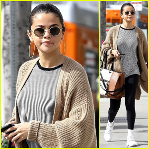 Selena Gomez Looks Comfy & Chic While Grabbing Breakfast in Hollywood
