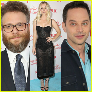 Seth Rogen is Joined by Famous Friends at Hilarity for Charity Event!