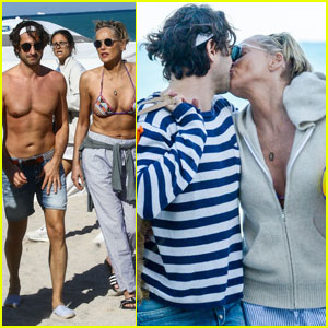 Sharon Stone Celebrates 60th Birthday in a Bikini With Her Boyfriend!