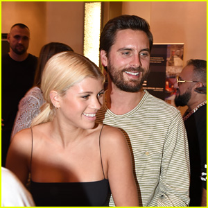 Sofia Richie Gushes Over Her Boyfriend Scott Disick!