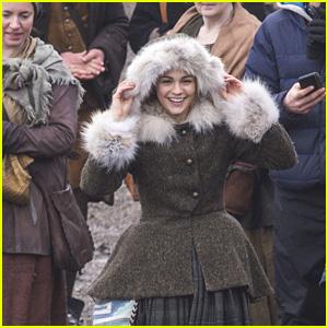 Outlander's Sophie Skelton Films Season Four in Scotland - Possible Spoilers!