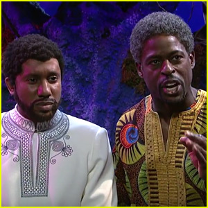 Sterling K. Brown Brings 'Black Panther' to 'SNL' - Watch!