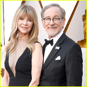 Steven Spielberg & Wife Kate Capshaw Couple Up for Oscars 2018