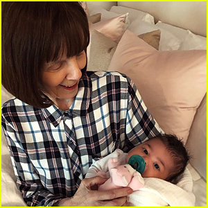Kylie Jenner's Baby Daughter Stormi Meets Her Great Grandmother!