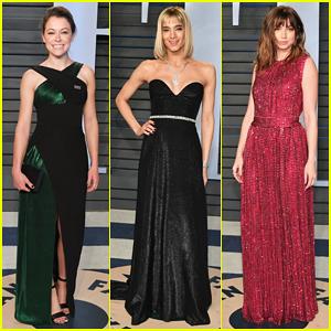Tatiana Maslany, Sofia Boutella & Ana de Armas Glow at Vanity Fair's Oscar Party 2018!