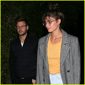 Taylor Hill Steps Out for a Sushi Date with Her Boyfriend