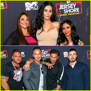 The 'Jersey Shore' Cast Live It Up at 'Family Vacation' Premiere Party!