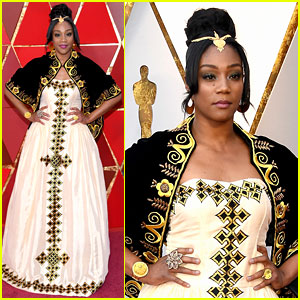 Tiffany Haddish's Traditional Eritrean Oscars 2018 Gown Pays Tribute to Her Late Father