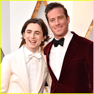 Timothee Chalamet & Armie Hammer Look So Handsome at Oscars 2018!