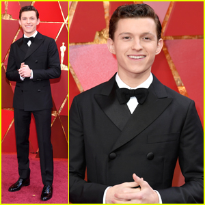 Tom Holland Suits Up Sharp For Oscars 2018