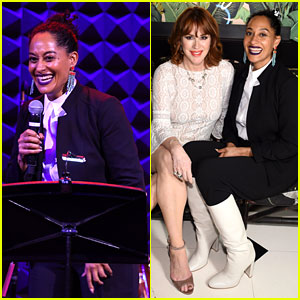 Tracee Ellis Ross & Molly Ringwald Go 'Bold' for Fashion Event in NYC