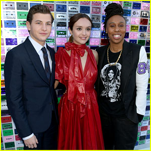 Tye Sheridan, Olivia Cooke, & Lena Waithe Premiere 'Ready Player One' in Hollywood