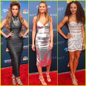 Tyra Banks, Heidi Klum & Mel B Kick Off 'America's Got Talent' 2018!