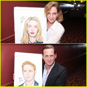 Uma Thurman & 'The Parisian Woman' Cast Receive Sardi's Portraits!