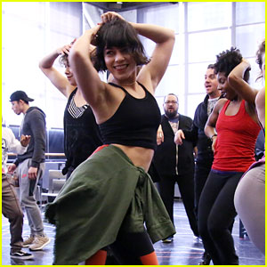 Watch Vanessa Hudgens in Rehearsal for 'In the Heights'