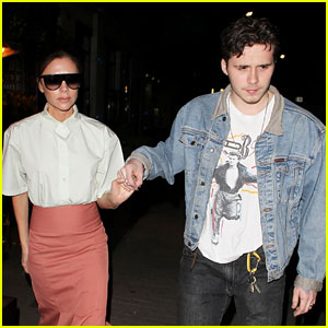 Victoria Beckham Enjoys a Mother-Son Night Out with Brooklyn