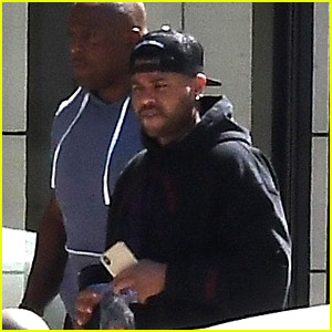 The Weeknd Steps Out Before Dropping His Surprise Album!