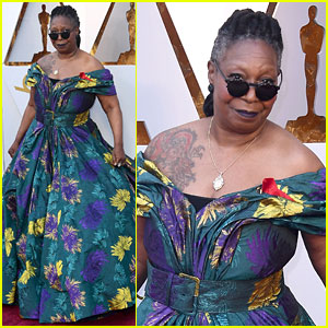Whoopi Goldberg Adds Pockets & Boots to Oscars 2018 Gown