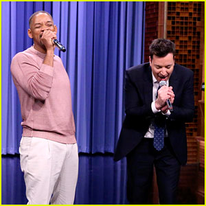 Will Smith & Jimmy Fallon Perform Medley of 11 TV Show Theme Songs, Including 'Fresh Prince'
