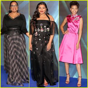 Oprah Winfrey, Mindy Kaling & Storm Reid Glow at 'A Wrinkle In Time' Premiere in London!