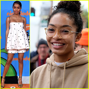 Yara Shahidi Glams Up at Kids' Choice Awards After Speaking at March For Our Lives!