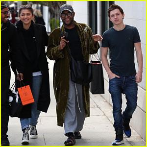 Zendaya & Tom Holland Hang Out Ahead of the Oscars 2018