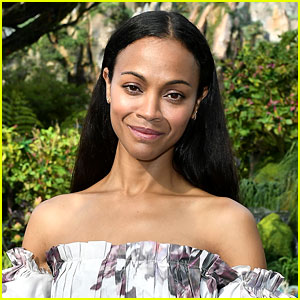 Zoe Saldana Talks New Digital Media Brand BESE, Which Was Inspired By Her Sons!