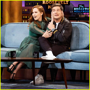 Zoey Deutch Shows Off Her Questionably 'Psycho' Dog Tattoo on 'Late Late Show'!