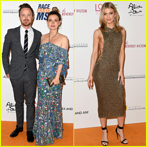 Aaron Paul & Wife Lauren Support a Good Cause at Race to Erase MS Gala
