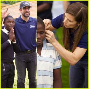 Aaron Rodgers & Danica Patrick Join Starkey Hearing Foundation For Mission in Lusaka