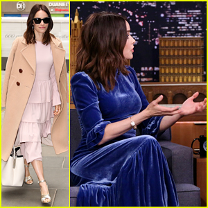 Abigail Spencer Shows Off Her Best Soap Opera Reaction Face on 'The Tonight Show'!