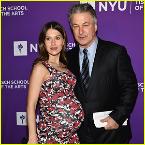 Alec Baldwin's Pregnant Wife Hilaria Puts Her Baby Bump on Display at NYU Gala