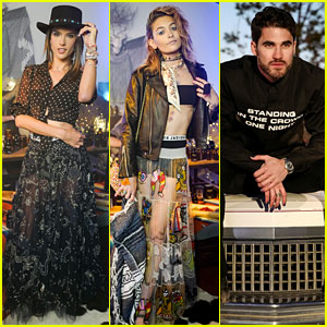 Alessandra Ambrosio, Darren Criss, & Paris Jackson Team Up for Dior Perfume Launch