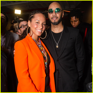 Alicia Keys & Hubby Swizz Beatz Help Raise Funds for Amref Health Africa at ArtBall!