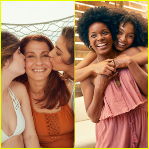 Aly Raisman & Yara Shahidi Pose With Their Moms in Aerie's Role Model Campaign!