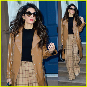 Amal Clooney Steps Out in Style on the Way to Work in NYC