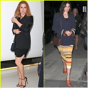 Amy Adams Grabs Dinner with Rachel Weisz in LA!