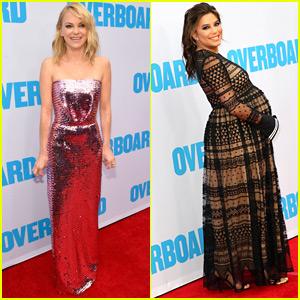 Anna Faris & Pregnant Eva Longoria Step Out for 'Overboard' Premiere!