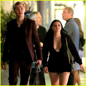 Ariel Winter Slays in Plunging Romper for Date Night With Levi Meaden