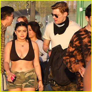 Ariel Winter Bares Some Skin at Coachella with Levi Meaden
